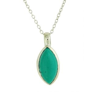 Turquoise Symbol Pendant Necklace