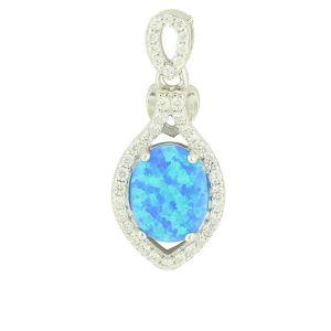 Blue Opal Adoration Pendant