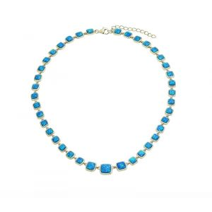 Blue Opal Attraction Necklace