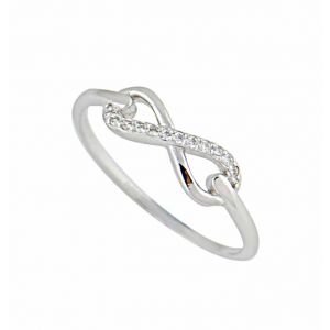 Cubic Zirconia and Infinity Ring
