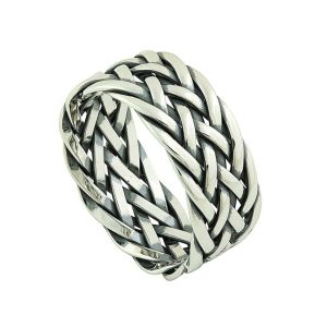 Celtic Plait Silver Ring