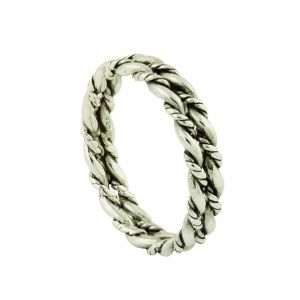 Silver Multi Rope Combination Ring