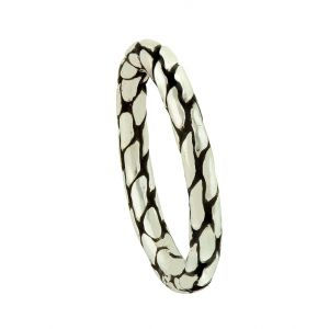 Cracked Mosaic Silver Ring