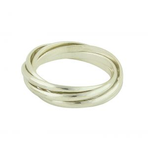 Multi Band Silver Ring