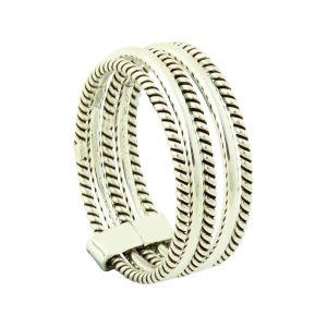 Multi Layer Silver Ring