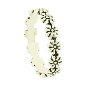 Blossoming Silver Ring