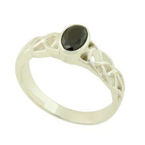 Black Onyx Lauren Ring