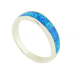 Blue Opal  Ada Ring