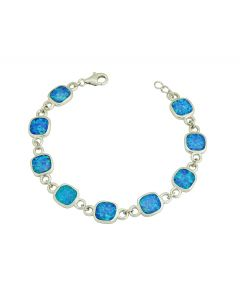 Blue Opal Partnership Bracelet