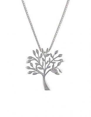 Choose Silver for a Fashionable Neckline Look