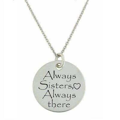 Say It with a Silver Pendant