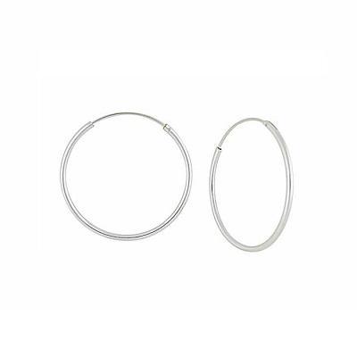 Fall in Love with Silver Sleeper Earrings