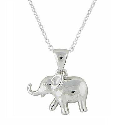 Go Wild for a Silver Pendant Necklace